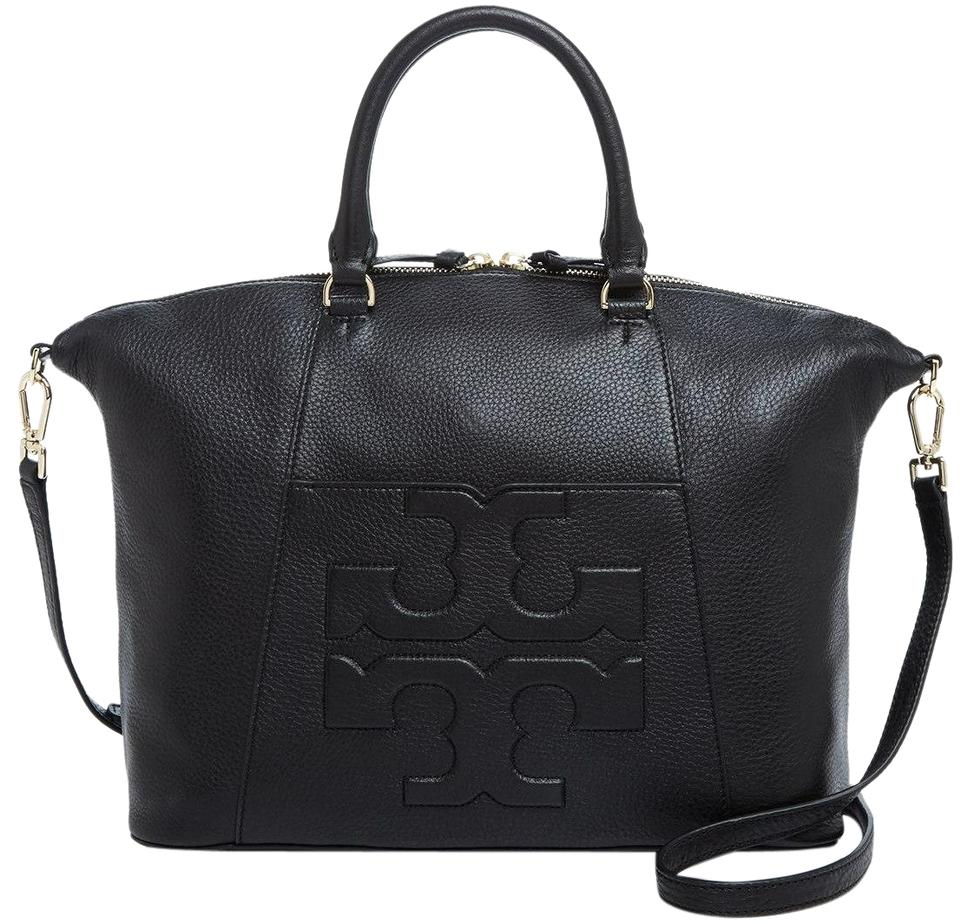 1c59c70605d Bombe Tory Black Satchel Burch Leather Tote Z5qqw78C ...