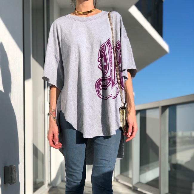 Free People T Shirt purple grey Image 6