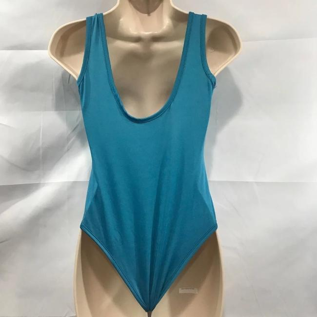 Suns Out Buns Out Top Turquoise Blue Image 4