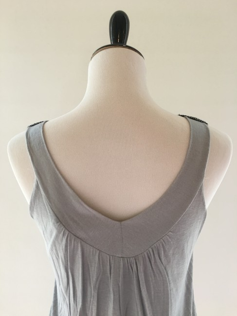 Body Central Blouse Shirt Camisole Top Grey Image 6