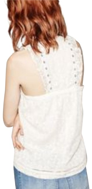 Preload https://img-static.tradesy.com/item/23837746/the-kooples-ivory-embroidered-lace-front-tank-topcami-size-12-l-0-2-650-650.jpg