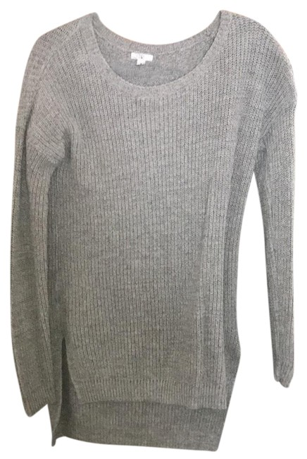 Preload https://img-static.tradesy.com/item/23837794/bp-clothing-grey-long-sweaterpullover-size-8-m-0-1-650-650.jpg