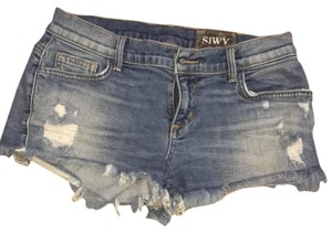 Siwy Denim Shorts-Distressed