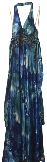 Preload https://img-static.tradesy.com/item/23837962/masquerade-turquoise-and-dark-blue-951500-long-casual-maxi-dress-size-4-s-0-1-650-650.jpg