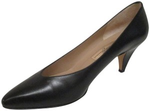 Amalfi Made In Italy Padded Insoles Black Pumps