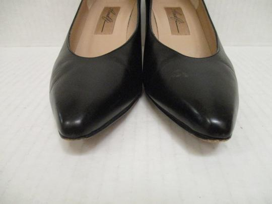 Amalfi Made In Italy Padded Insoles Black Pumps Image 2
