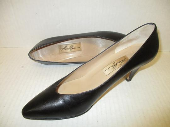 Amalfi Made In Italy Padded Insoles Black Pumps Image 3