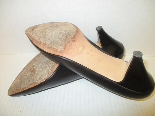 Amalfi Made In Italy Padded Insoles Black Pumps Image 5