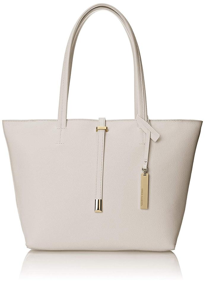 Driftwood Small Vince Leather Travel Tote Leila Camuto SEEwqxIg