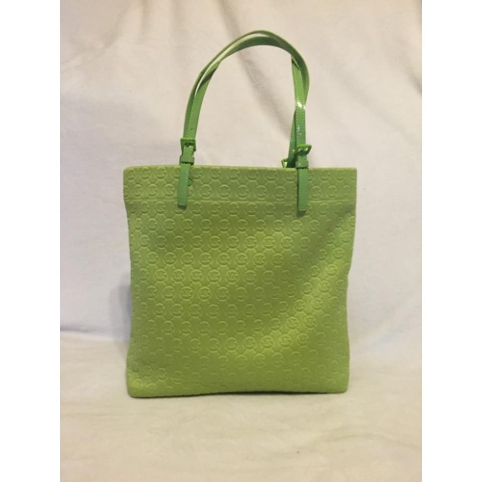 f2be02514ca6 Michael Kors Bag Lime Green Neoprene Tote - Tradesy