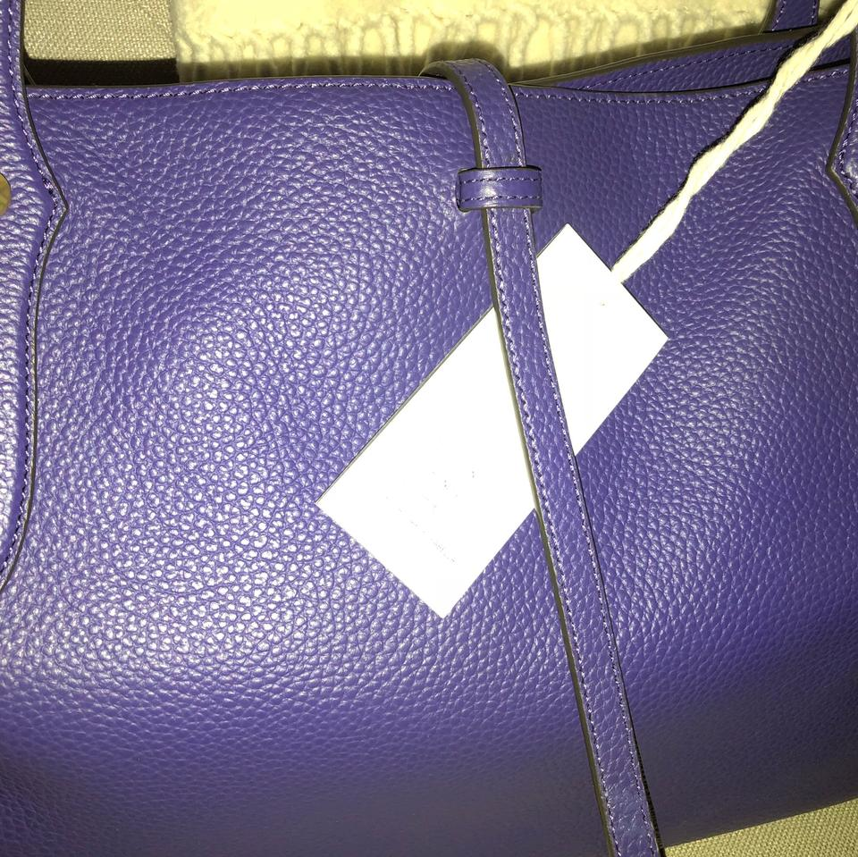 Isabella Pebbled Tote Rich Purple Indigo Annabel Leather Large Deep Texture Ingall 57ZZqRgWF