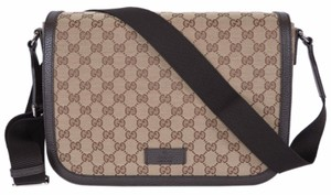 Gucci Handbag Crossbody Brown Messenger Bag