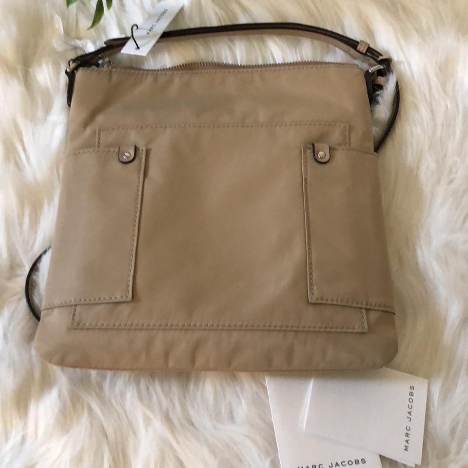 Marc Jacobs Sandstone Leather Cross Body and Bag Vinyl qqrHx17