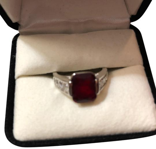 Preload https://img-static.tradesy.com/item/23838355/anne-klein-silver-red-stone-cocktail-ring-0-1-540-540.jpg