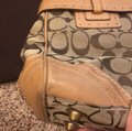 Coach Signature Satchel in brown/tan Image 11
