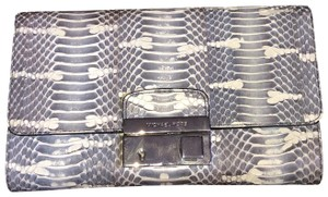 Michael Kors Collection snake Clutch