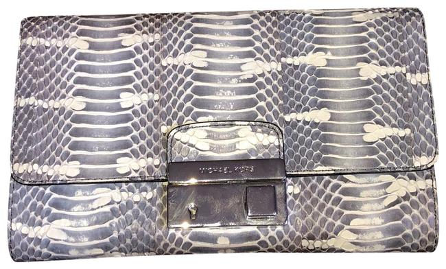 Item - Gia Mangrove Snake Snakeskin Leather Clutch