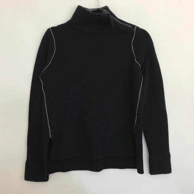 Vince Mock Chain Stitch Cashmere Wool Sweater Image 1