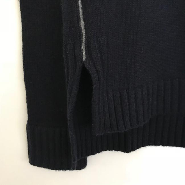 Vince Mock Chain Stitch Cashmere Wool Sweater Image 4