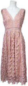 Romeo & Juliet Couture short dress Dusty Pink on Tradesy