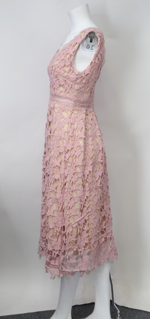 Romeo & Juliet Couture short dress Dusty Pink on Tradesy Image 2