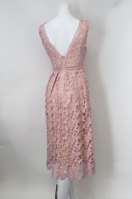 Romeo & Juliet Couture short dress Dusty Pink on Tradesy Image 3