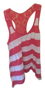 Mossimo Supply Co. Top Red and White