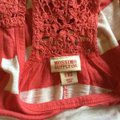 Mossimo Supply Co. Top Red and White Image 3