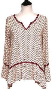 About A Girl Top maroon.