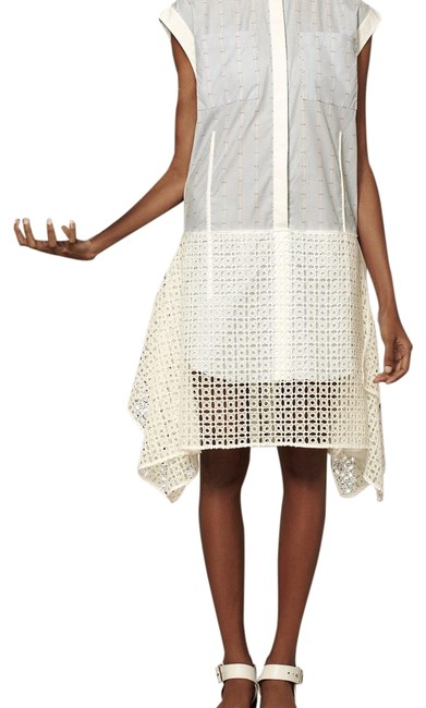 Preload https://img-static.tradesy.com/item/23838836/white-see-through-lace-mid-length-short-casual-dress-size-8-m-0-2-650-650.jpg