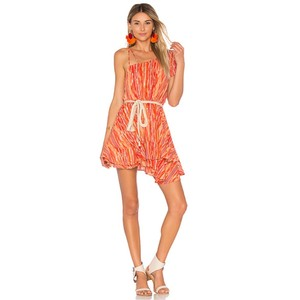 Free People short dress Orange on Tradesy