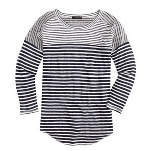 J.Crew T Shirt Mixed Stripe