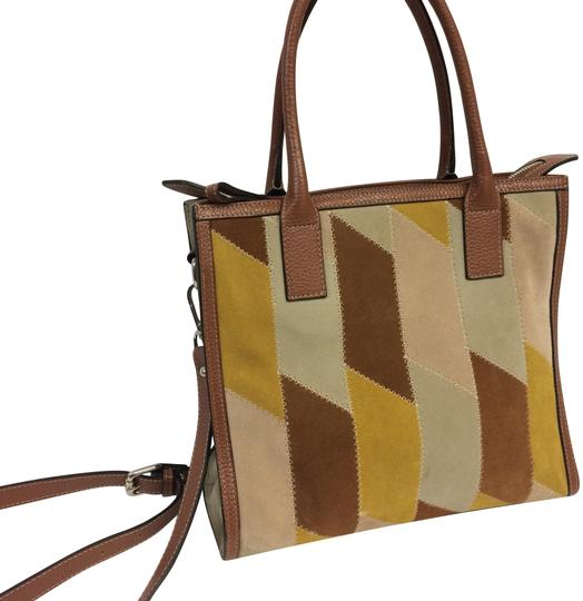 Preload https://img-static.tradesy.com/item/23839078/suede-and-multicolor-leather-tote-0-1-540-540.jpg