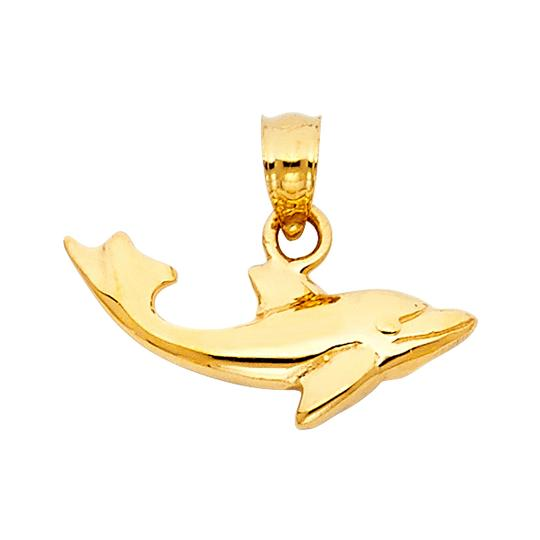 Preload https://img-static.tradesy.com/item/23839102/yellow-gold-14k-dolphin-pendant-charm-0-0-540-540.jpg