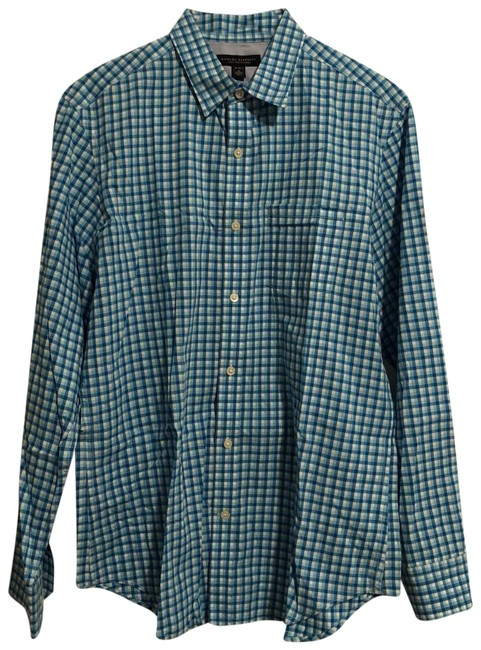 Preload https://img-static.tradesy.com/item/23839114/banana-republic-blue-men-s-gingham-soft-wash-slim-fit-shirt-button-down-top-size-8-m-0-1-650-650.jpg