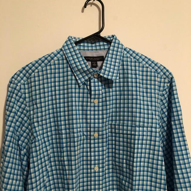 Banana Republic Button Down Shirt Blue Image 1