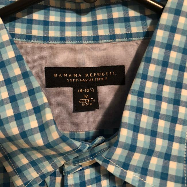 Banana Republic Button Down Shirt Blue Image 2