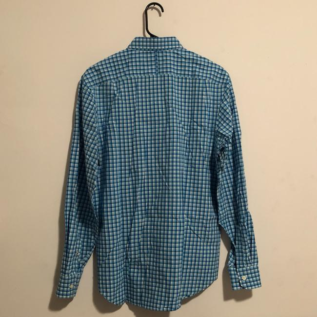 Banana Republic Button Down Shirt Blue Image 4