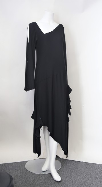 Black Maxi Dress by Cari Borja Image 1