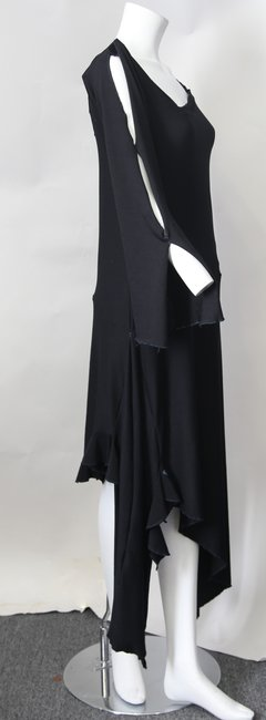 Black Maxi Dress by Cari Borja Image 3