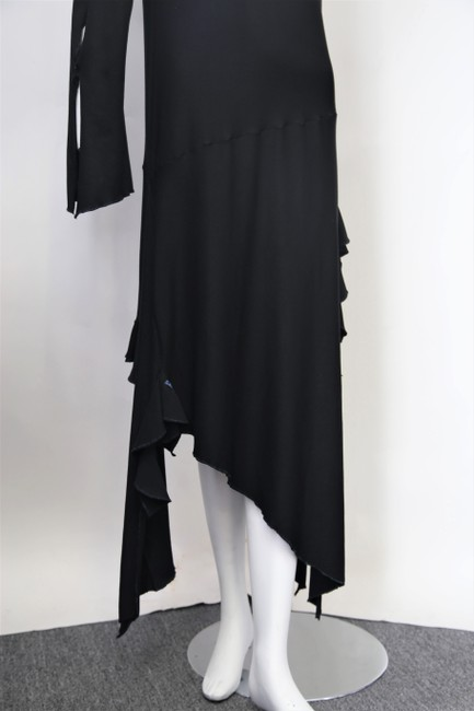 Black Maxi Dress by Cari Borja Image 7