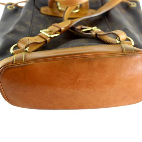 Louis Vuitton Montsouris Mm Monogram Leather Canvas Weekend Travel Bags Backpack Image 7