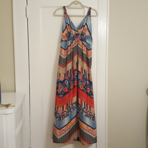 Multi Color Maxi Dress By A Pea In The Pod