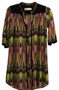 T-Bags Los Angeles short dress multi on Tradesy