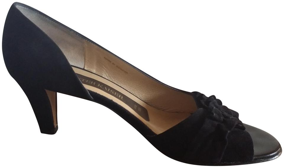 newest collection bc555 63fad Black Colly Suede Pumps