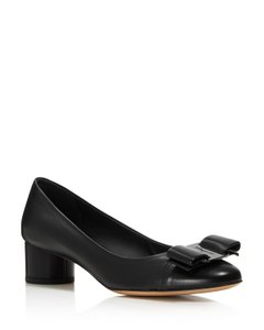 Salvatore Ferragamo Ivrea 5 Black Pumps
