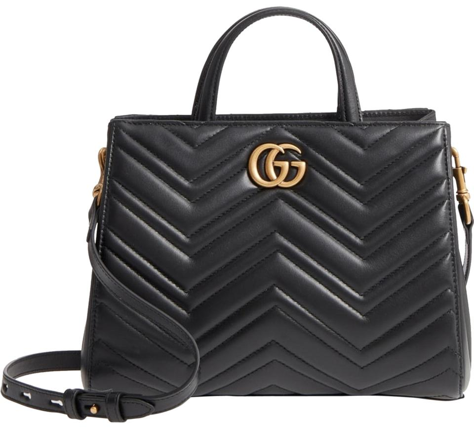 871eb55fe63 Gucci Marmont New Gg Small 2.0 Matelassé Leather Top Handle Satchel ...