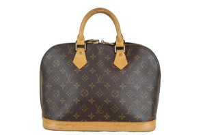 Louis Vuitton Monogram Alma Tote in Brown