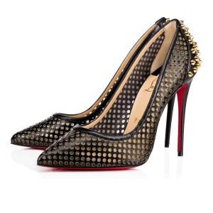Christian Louboutin Pigalle Stiletto Classic Mule Guni black Pumps