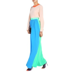 Roksanda Ilincic Maxi Skirt Blue,Green